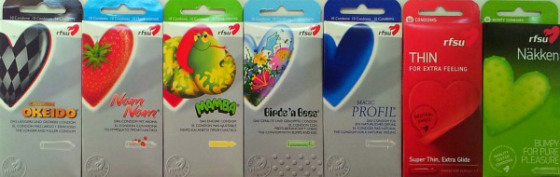 Preservativos (condones)