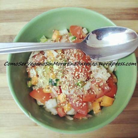ensalada cuchara