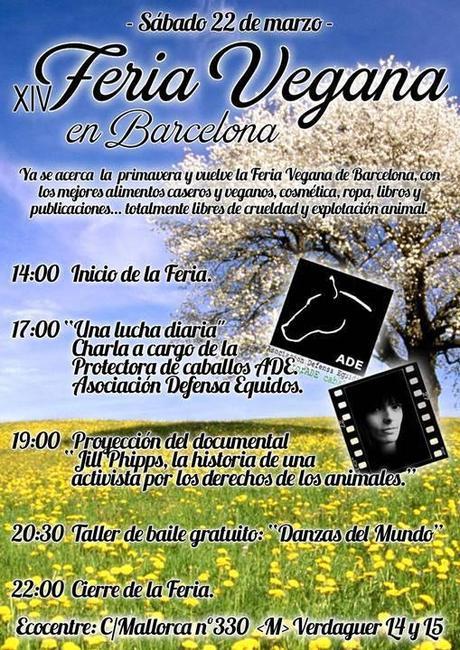 La Feria vegana de Barcelona, esta vez llega con la primavera
