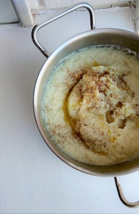 Puré de Coliflor Y patata