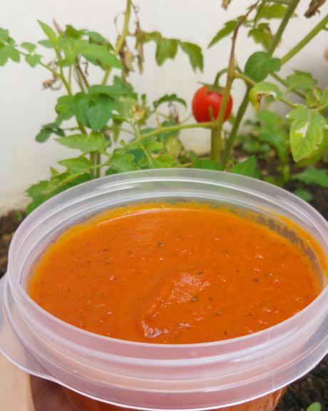 Salsa de tomate 🍅 casera