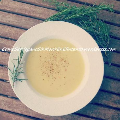 Vichyssoise (Crema de puerros fría)